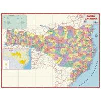 3 Mapa Escolar Estado De Santa Catarina Multimapas Unidade