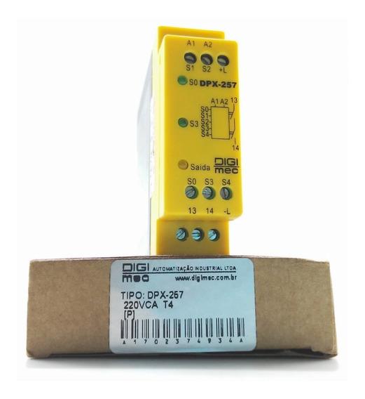 Rele Segurança Parada Emergência 220v Dpx-257 T4 - Digimec