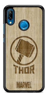 Funda Case Avengers Thor Bambu Huawei P20 Mate Y7 Y6 Y9 Ymas