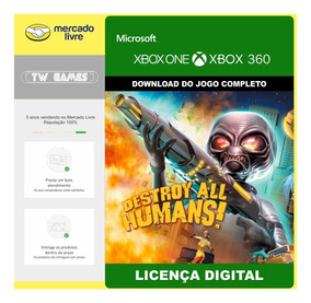 Destroy All Humans Digital Retrocompativel Xbox 360 Xbox One