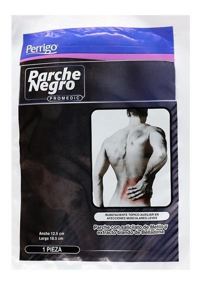 Parche Negro Para Dolores Musculares 1 Pza