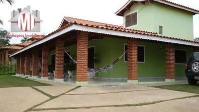 Linda Chácara Com 04 Dormitórios À Venda, 1000 M² Por R$ 295.000 - Zona Rural - Pinhalzinho/sp - Ch0482