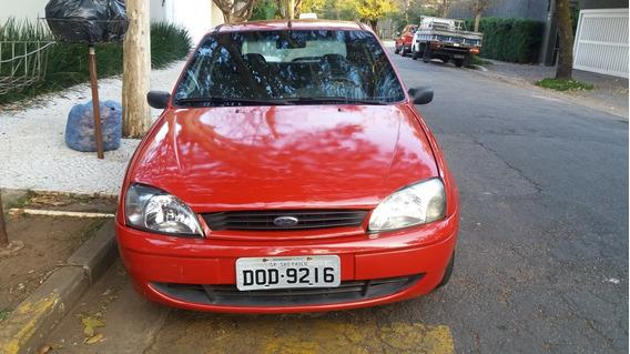 Ford Fiesta Street 2004 1.0 5p Gasolina Ar Vidros E Travas