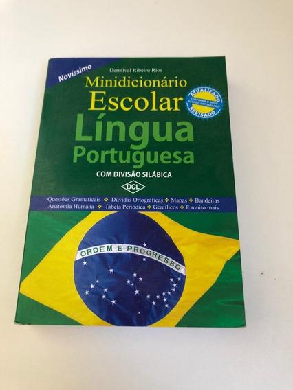 Mini Dicionario Escolar Lingua Portuguesa - Portugues