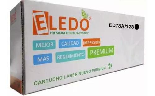 Toner Genérico Eledo 78a / 128a Compatible Con Hp Y Canon