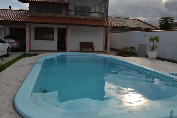 Casa Com 5 Dormitórios À Venda, 175 M² Por R$ 0 - Ponte Do Imaruim - Palhoça/sc - Ca1980