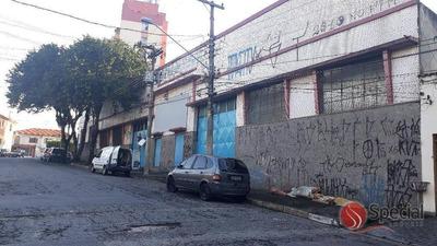 Galpão Comercial Na Água Rasa, São Paulo. - Ga0655