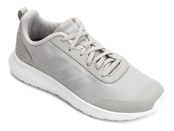Tênis adidas Cf Element Race Cinza E Prata Feminino