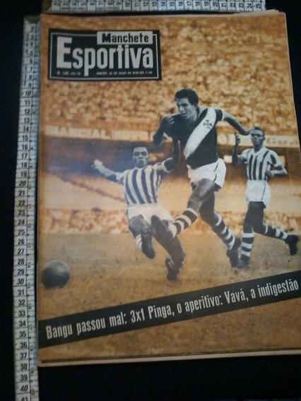 Revista Manchete Esportiva 140 1958