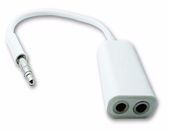 2 Aptador Cabo Headset P/ Fone Microfone P2 P3 Menor Frete
