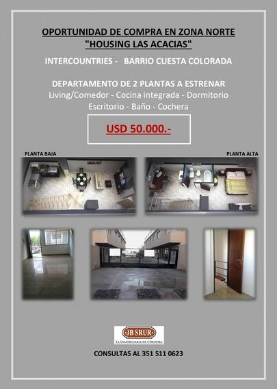 Duplex En Venta En Housing Zona Intercountries, Cuesta Colorada. Oportunidad!!!