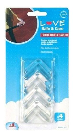 8 Protetores Mesa Vidro Proteção Quina Canto Segurança 8811