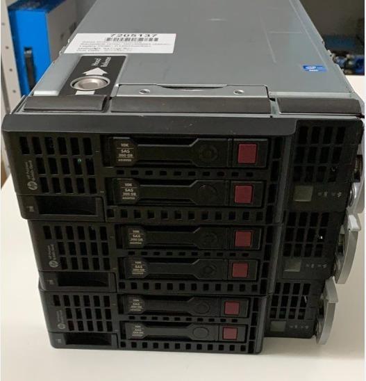 Servidor Blade Hp Bl460c G8 Dual Xeon Octa E5-2660 128 Ddr3