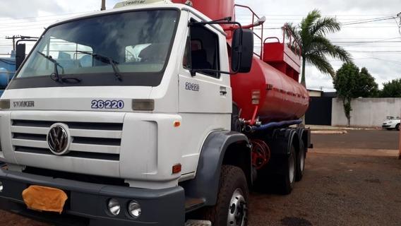 Caminhão Pipa Bombeiro Tanque De Agua Vw 26220 2005 115.000.