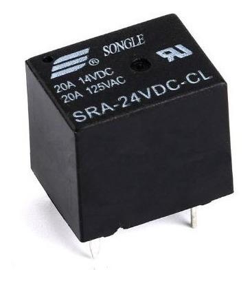 Relé 24v 20a Sra-24vdc-cl Arduino Pic 1 Peça