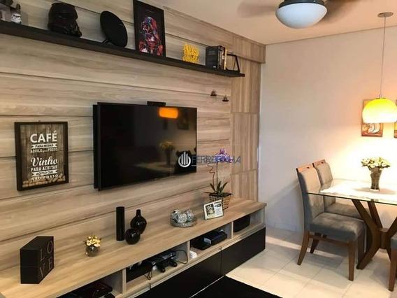 Apartamento Com 2 Dormitórios À Venda, 53 M² Por R$ 190.000,00 - Jardim Primavera - Jacareí/sp - Ap3607