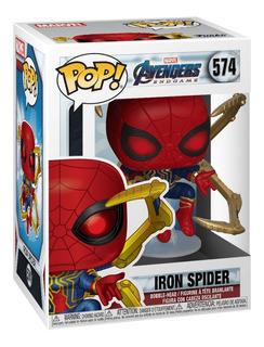 Funko Pop Marvel Avengers Endgame Iron Spider W/nano Gauntle