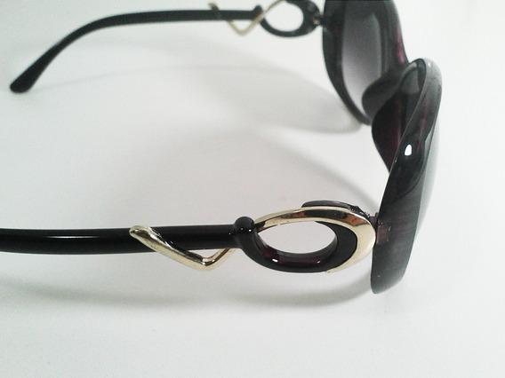 Óculos Feminino Proteção Uv400 - Baroquê - Degradê Roxo