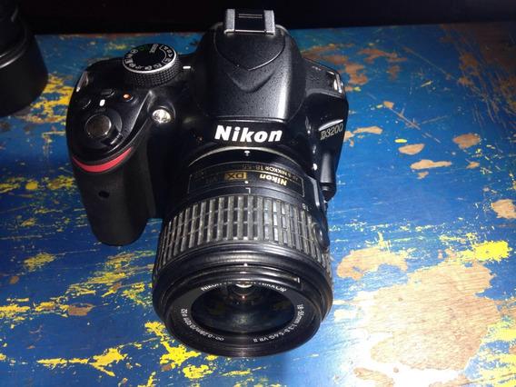 Câmera Nikon D3200+ 18-55 Brinde