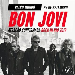 Ingressos 2 Inteira Rock In Rio 29/09 Bon Jovi Com Translado