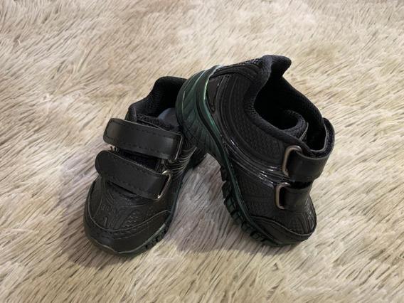 Tênis Infantil Masculino Bebê Velcro Conforto Promoção Macio