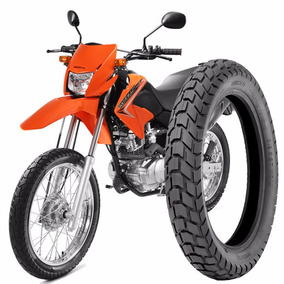Pneu Moto Bros/crosser 110/90-17 Tras C/camara Technic