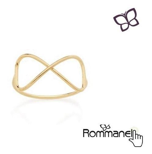 Anel Infinito Skinny Ring Rommanel 512564