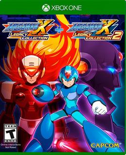 Mega Man X Legacy Collection 1+2 Xb1 Nuevo