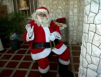 Payasita Recreador Santa Claus Inflable Cama Elast Maracay