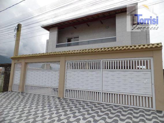 Sobrado Em Condomínio Na Praia Grande, 02 Dormitórios, J Princesa, So0056 - So0056