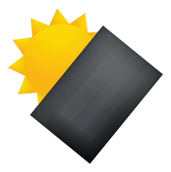 Celda Panel Solar Fotovoltaico 6v, 3w, Pet Cargador