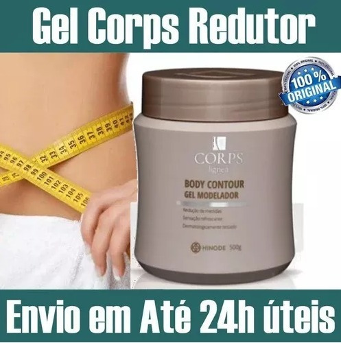 Kit C/2 Creme Gel Corps Lignea Hinode Reduz Celulite Gordura