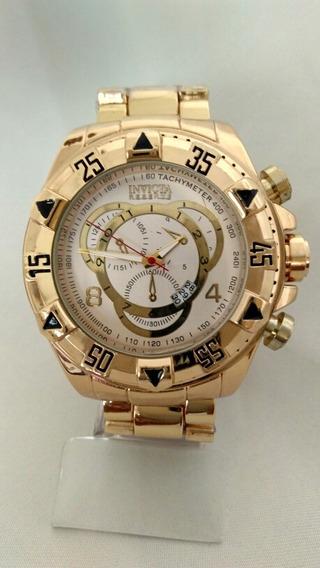 Relógio Masculino Dourado Barato Frete Grátis