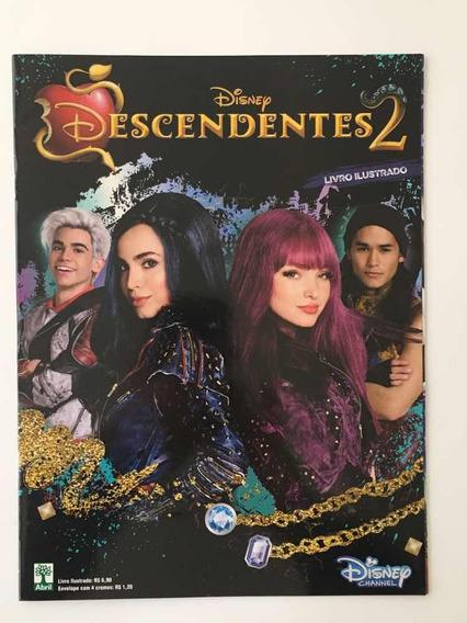 Descendentes 2, Álbum Completo Com Figurinhas Para Colar