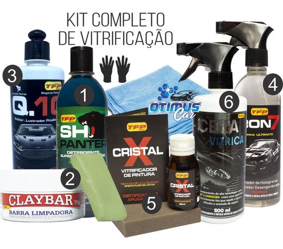 Kit Vitrificação Automotiva Do Processo Completo Super Promoção