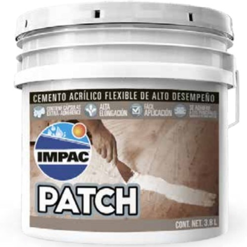 Resanador 3.8lts Impac Patch® Cemento Acrílico Para Grietas