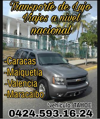 Transporte Ejecutivo, Viajes A Nivel Nacional