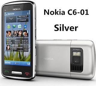 Serie C De Nokia C6-01 8mp Plata T-mobile (gsm) Desbloqueado
