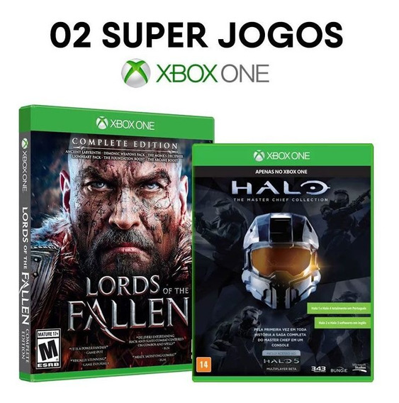 Lords Of The Fallen: Complete Edition + Halo: Master Chief Collection - Xbox One - ( Mídias Físicas E Lacradas )