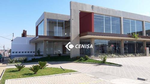 Imagem 1 de 10 de Salão Para Alugar, 168 M² Por R$ 6.000,00/mês - Recreio Campestre Jóia - Indaiatuba/sp - Sl0070