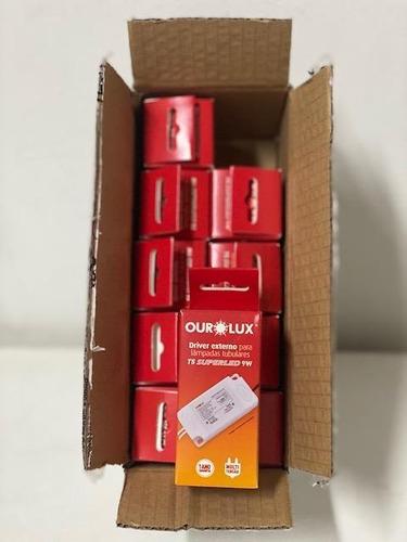 Caixa Com 10 Peças Do Drive Para T5 9w Multi 05538 Ourolux