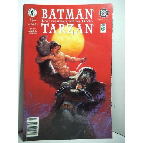 Batman Tarzan Las Garras De La Gata Tomo 1 Editorial Vid