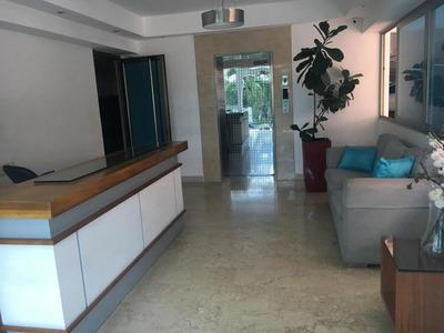 Apartamento Amoblado Con Aire A Y Lb De 3hab En Bella Vista