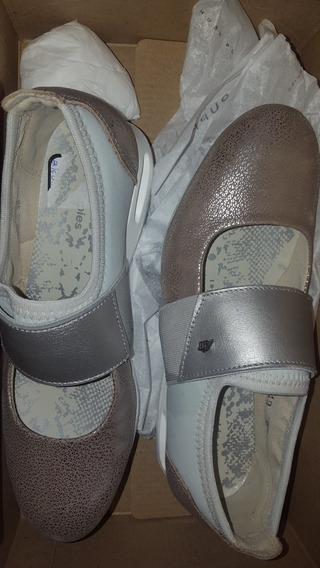 Hush Puppies Talle 35 Gris
