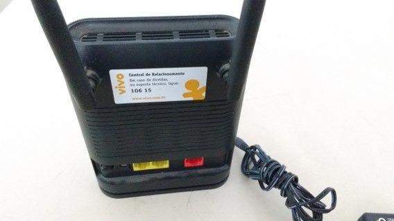 Roteador Vivo Mini Ftth Sem Fio W-m2120n Com 2 Antenas.
