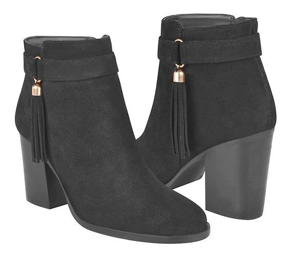 Botas De Moda Para Dama Perugia 80267 Negro
