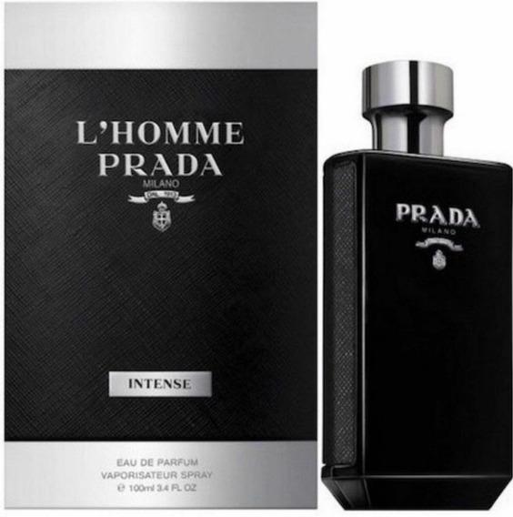 Perfume Prada Lhomme Intense 100ml Eau De Parfum