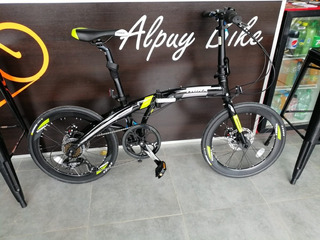 Bicicleta Plegable Trinx Dolphin Alu. Disc.