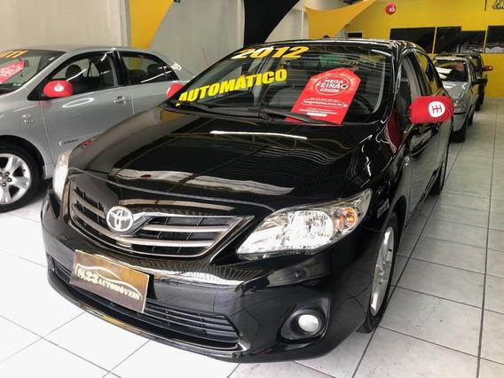 Toyota Corolla 2012 .0 16v Xei Flex Aut. 4p