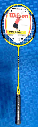 Raqueta Bádminton Wilson Match Poin Pro 3 3/8 Kt20